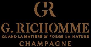Logo Champagne Richomme Sézanne Barbonne Fayel Quand la matière forge la nature