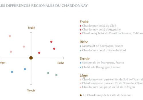 Différences Chardonnay selon régions Champagne G.Richomme